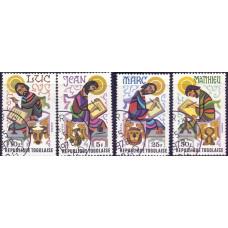 1978 Март Набор Марок Республики Того Евангелисты The Evangelists