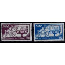 1937, декабрь. Набор почтовых марок Ирландии. День конституции