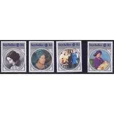 1985 Июнь Сейшельские Острова Жизнь Королевы Матери