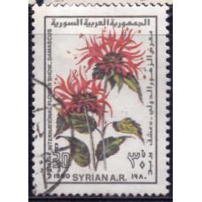 1980 Ноябрь Сирия Международная Выставка Цветов в Дамаске 30 пиастров