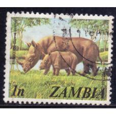 1975 Январь Замбия Чёрный Носорог 1 нгве