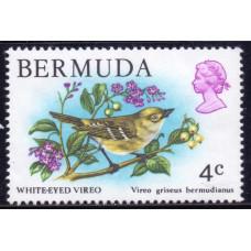 1978 Ноябрь Бермудские Острова Белоглазый Виреон 4 цента