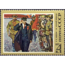 1977, апрель. 107-я годовщина со дня рождения В.И. Ленина
