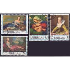 1968, март. Набор марок Рас-эль-Хайма (ОАЭ). День матери. Airmail