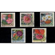1970, ноябрь. Набор почтовых марок СССР. Цветы