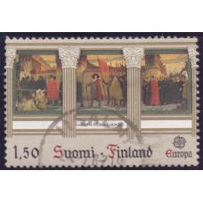 1982 Апрель Финляндия Марки ЕВРОПА Исторические События 1.50 марки