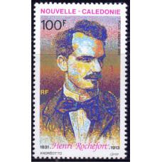1993 Август Новая Каледония Анри Рошфор 100 франков
