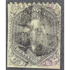 1875 Август США Джордж Вашингтон 24 цента