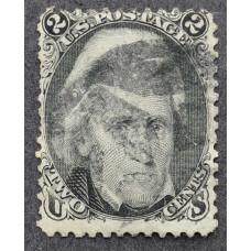 1863 Январь США Эндрю Джексон 2 цента