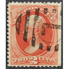 1875 Июнь США Эндрю Джексон 2 цента