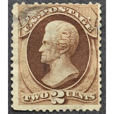 1873 США Эндрю Джексон 2 цента