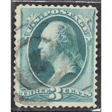 1870 Март США Джордж Вашингтон 3 цента