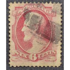 1870 Март США Авраам Линкольн 6 центов