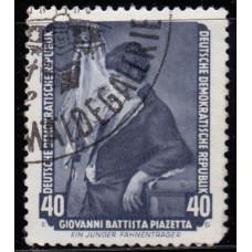 1957, июнь. Почтовая марка Германии (ГДР). Знаменитые картины из Дрезденской галереи. 40 пфенинг