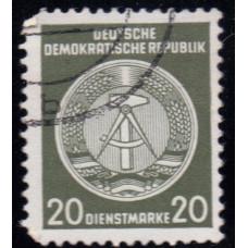 1957. Почтовая марка Германии (ГДР). Официальные марки. 20 пфенинг