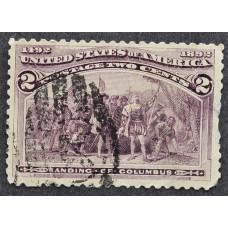 1893 Февраль США Высадка Колумба 2 цента