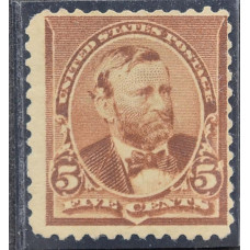 1890 США Улисс Грант 5 центов