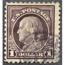 1917 США Бенджамин Франклин 1 доллар