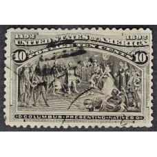 1893 Февраль США Высадка Колумба 10 центов