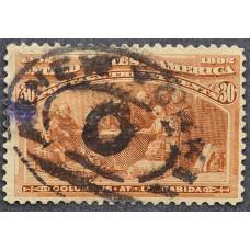 1893 Февраль США Высадка Колумба 30 центов