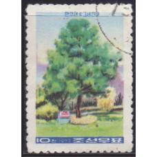 1973, февраль. Почтовая марка Северной Кореи. 61-я годовщина со дня рождения Ким Ир Сена