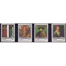 1978, октябрь. Набор почтовых марок Центральноафриканской Республики. 450 лет со дня смерти Альбрехта Дюрера