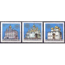 1992, сентябрь. Соборы Московского Кремля