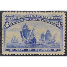1893 Февраль США Высадка Колумба 4 цента