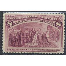 1893 Февраль США Путешествия Колумба 8 центов