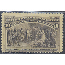 1893 Февраль США Путешествия Колумба 10 центов
