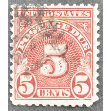 1930-1931 США Доплатная Марка 5 центов