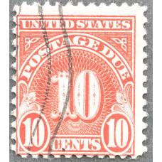 1930-1931 США Доплатная Марка 10 центов