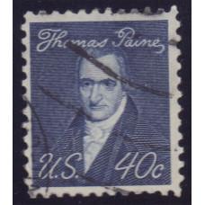 1968 Январь США Выдающиеся Американцы Томас Пейн 40 центов