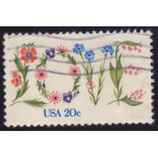 1982 Февраль США Love 20 центов