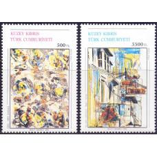 1992 Март Кипр турецкий Картины