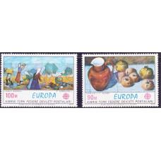 1975 Декабрь Кипр турецкий Марки ЕВРОПА - Живопись