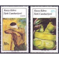 1987 Май Кипр турецкий Картины
