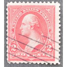 1894-1895 Октябрь США Джордж Вашингтон 2 цента