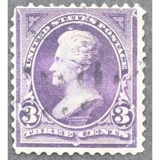1894 Сентябрь США Эндрю Джексон 3 цента