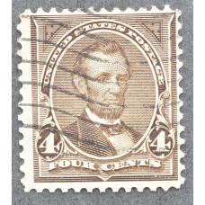 1894 Сентябрь США Авраам Линкольн 4 цента