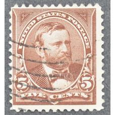 1894 Сентябрь США Улисс Грант 5 центов