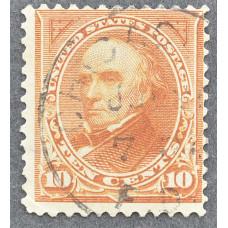 1898 США Даниел Уэбстер 10 центов