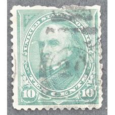 1890 Январь США Даниел Уэбстер 10 центов