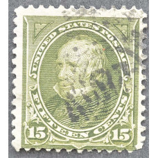 1898 США Генри Клей 15 центов