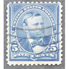 1898 США Улисс Грант 5 центов