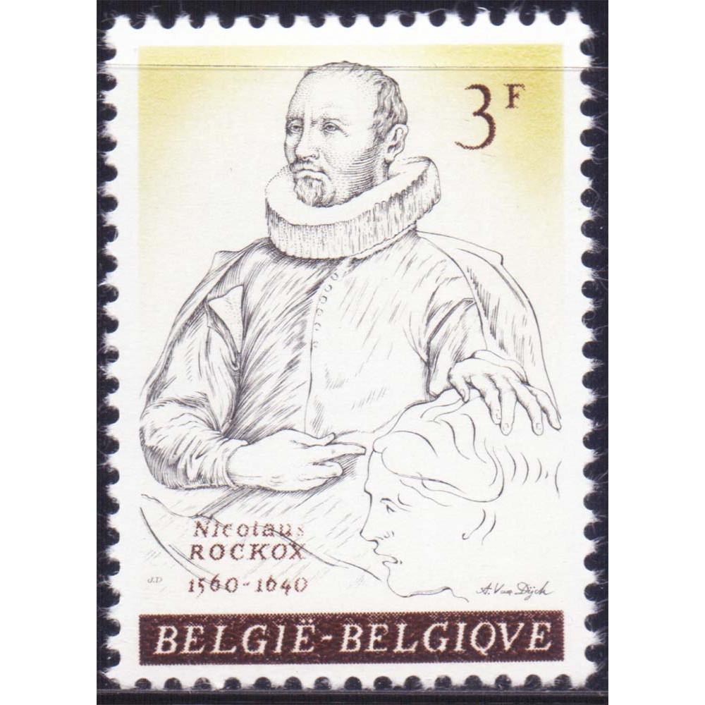 1961 Март Бельгия Бургомистр Николас Рококс 3 франка
