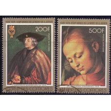 1978, апрель. Набор почтовых марок Коморских островов. 450 лет со дня смерти Альбрехта Дюрера. Авиапочта