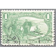 1898 Июнь США Освоение Территории Транс-Миссисипи 1 цент
