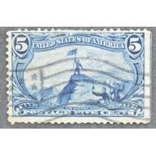 1898 Июнь США Освоение Территории Транс-Миссисипи 5 центов