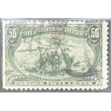 1898 Июнь США Освоение Территории Транс-Миссисипи 50 центов